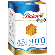 BALEN ARI SÜTÜ BAL POLEN 8000 MG