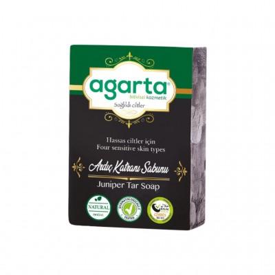 Agarta Doğal El Yapımı Ardıç Katranı Sabunu 150 gr